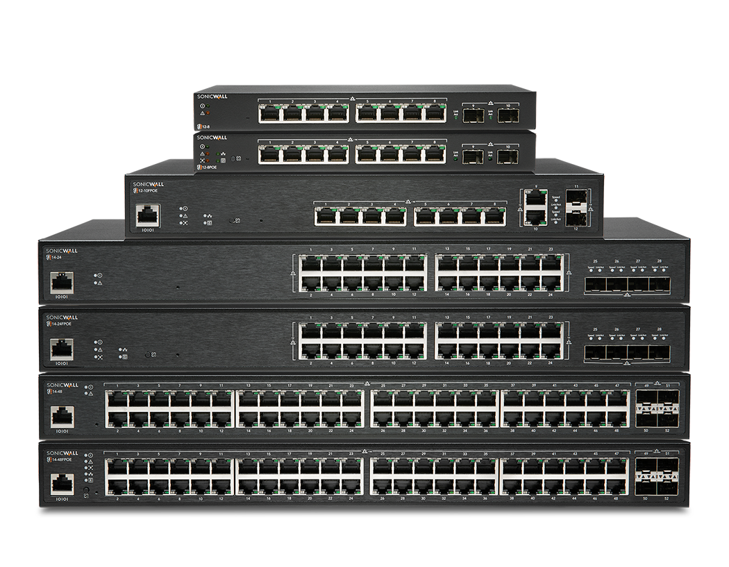 SonicWall Stacked Switches