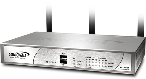 SonicWall TZ 210 Wireless Series