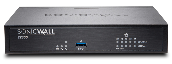 SonicWALL TZ300 Series
