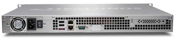 SonicWALL WXA 4000 Series Back View