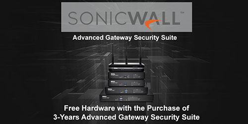SonicWall Promotional Tradeup - While Supplies Last!