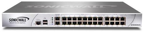 SonicWALL NSA 2400 GAV/IPS/Application Firewall Security Bundle 1YR