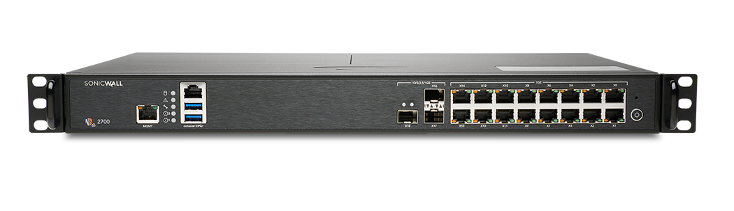 SonicWall NSA 2700 Network Security Appliance