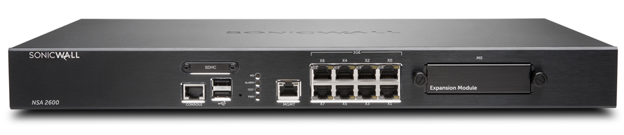 SonicWALL NSA 2600 Network Security Appliance