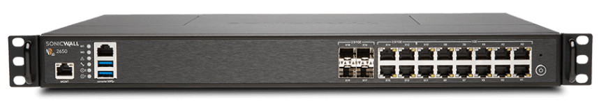 SonicWall NSA 2650 '3 & Free' Promotion