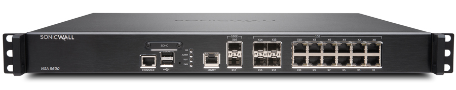 SonicWALL NSA 5600 Network Security Appliance