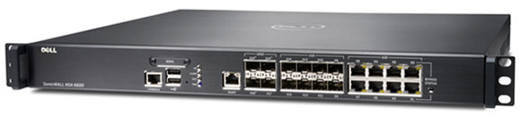 Dell SonicWALL NSA 6600 Network Security Appliance