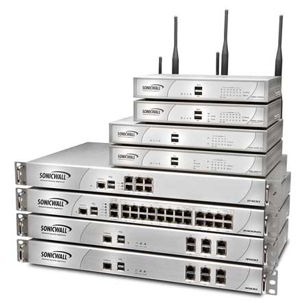 SonicWALL NSA Series Appliances