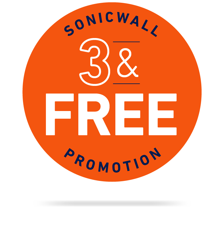 SonicWall 3 and Free Promotion